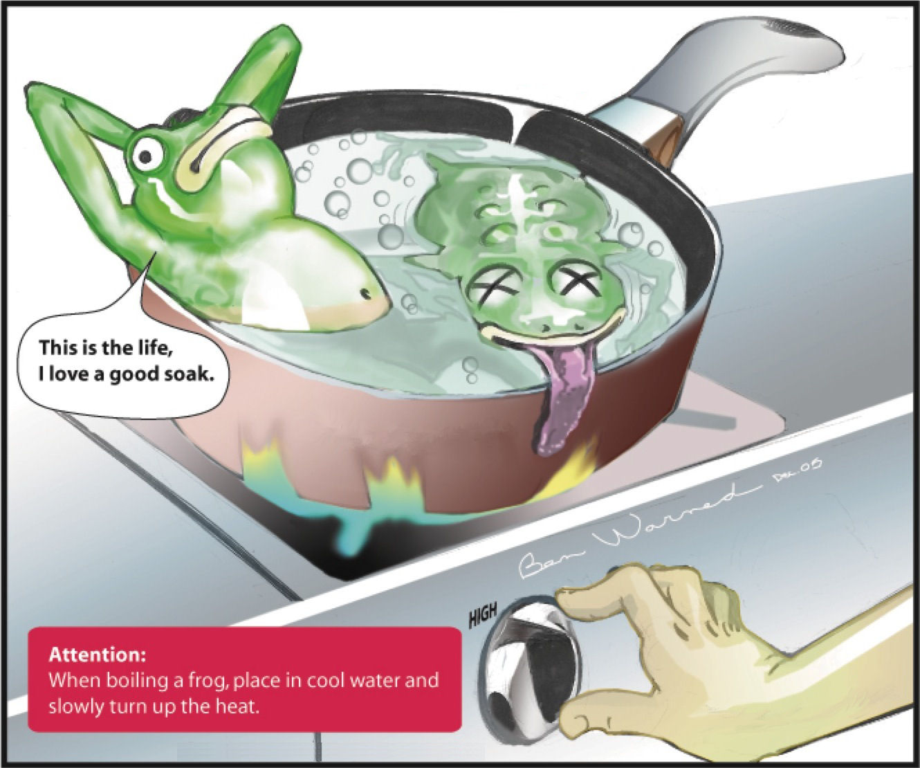 Boiling the Frog!